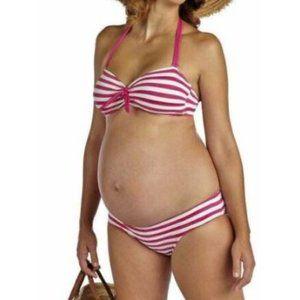 Pez D'Or Rimini Striped Bikini Maternity Swimsuit